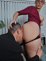Paiges personal assistant really wants a payrise and the best way to get it is fuck her nice and hard.