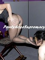Dia Zerva Pantyhose Punishment