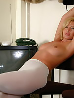 Hot mom Tracey Coleman loves showing those panties