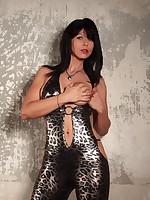 Sexy MILF Desyra Noir dressed in a lovely outfit