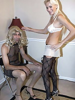 Mistress Autumn cross dresses and strapon
